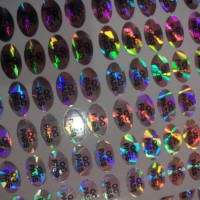Sticker stiker hologram qc pass bukan passed label segel motif diamond