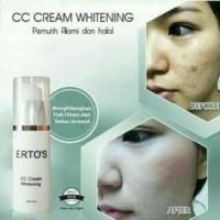 Ertos CC Cream Whitening BPOM Original/ ERTO`S CC cream