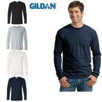Jual Kaos polos Gildan Long Sleeve Man 76400 premium cotton murah meriah Murah