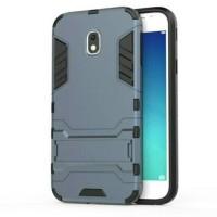 silikon iron case samsung j3pro plus standing pres sisi