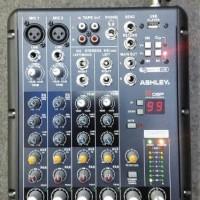 Mixer audio 6 ch ashley SMR6 99 DSP dan MP3 player