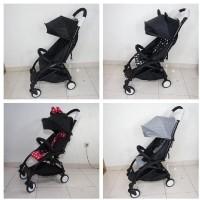 Jual Gojek :Eclaire Baby Stroller look like yoyo (pockit,lipat,lightweight) Murah