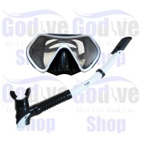 harga Alat Selam Godive Snorkeling Mask & Snorkle Set M6101-white Tokopedia.com