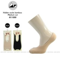 kaos kaki tapak tumit / invisible socks bamboo Import High Quality