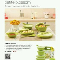 Tupperware Petite Blossom Collection