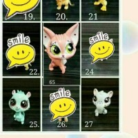 Action figure asli original lps littlest pet shop petshop scanerble