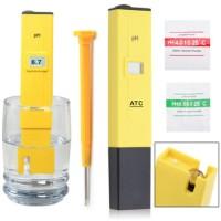 PH meter alat ukur ph air hidroponik + 1 set serbuk kalibrasi