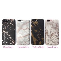 iPhone Case Casing Marble Gold Black White Grey 5/6/7/8 X/ samsung s8