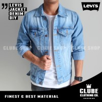 Jual jaket pria / jaket jeans / jaket denim / jaket levis Murah