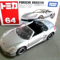 porsche Boxster silver no 64 Tomica reguler takara tomy