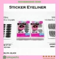 Jual Stiker Mata Hitam Tebal Scott Eyeliner Eyelid C02 Termurah Murah