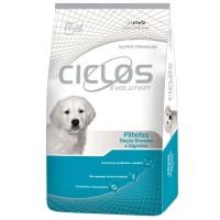 Makanan Aning Ciclos Dog Puppy Large Breed 15 kg Luar daerah