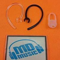 (Paket Hemat) Earhook Eartips dan Karet Headset Bluetooth Handsfree