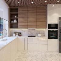 Kitchen set lemari dapur modern minimalis Bali