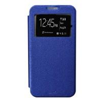 Smile Flip Cover Case Samsung J5pro J530 - Biru Tua