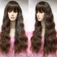 WIG LONG WAVY MERMAID WAVE cute lolita kawaii ulzzang