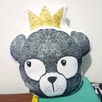Bantal Raja Beruang - XL max 50x70 cm