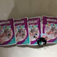 Makanan Kitten Whiskas Junior Tuna