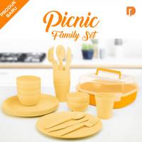 Jual Set Perlengkapan Makan Piknik Keluarga Picnic Family Set Murah