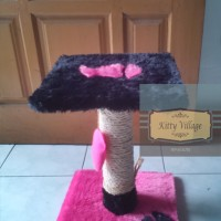 garukan kucing / cat scratch / cat toy / cat condo / cat tree tipe 2