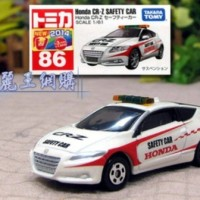 Tomica No 86 Honda CRZ Safety Car Diecast miniatur mobil takara tomy