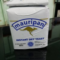 MAURIPAN GOLD INSTANT DRY YEAST Ragi kering 500g