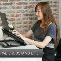 Ergostand with Cooling Pad/ Tempat Dudukan Notebook Dengan Pendingin