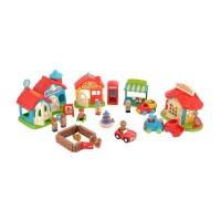 ELC Happyland Bumper Village Set mainan rumah rumahan anak