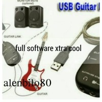 usb guitar link cable efek gitar dahsyat di pc/laptop anda