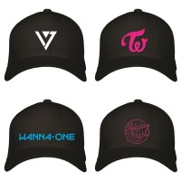 TOPI LOGO KPOP SEVENTEEN EXO BTS SNSD TWICE GOT7 WANNA ONE