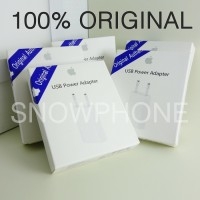 ADAPTOR CHARGER ORIGINAL 100% FOR IPHONE IPAD IPOD