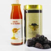 Jual Paket Nutrisi Ibu Hamil, Kurma Ajwa Royal 330 gr + Madu Murni 340 gr Murah