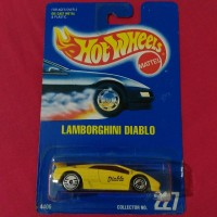 Hot Wheels Lamborghini Diablo GT Hotwheels Sesto Elemento Aventador J