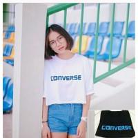 Harga fashion wanita converse tee baju wanita atasan blouse kaos tshirt t | WIKIPRICE INDONESIA
