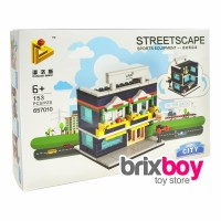 Jual Lego Sembo City Streetscape Panlos 657010 Sports Equipment 153pcs Brix Murah