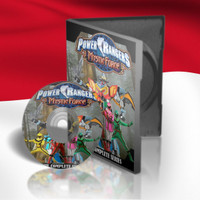 DVD Film Power Rangers Mystic Force