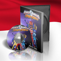 DVD Film Power Rangers Ninja Storm