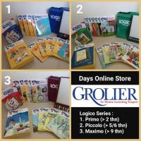 Paket 3 Logico Series PRIMO + PICCOLO + MAXIMO dari Grolier