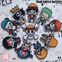 ONE PIECE PATCH [Stiker Bordir]