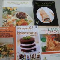 Harga paket buku resep makanan dan minuman | WIKIPRICE INDONESIA