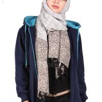 Jaket Panjang Wanita Berhijab Cantik warna Navy x Turkish Murah Grosir