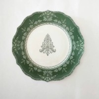 harga Piring Makan Sango Motif Winter Ball Dinner Tokopedia.com