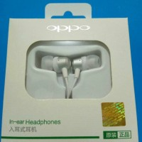 Jual 100% ORIGINAL Headset Earphone Handsfree Oppo R9 / Lenovo Xiaomi Vivo Murah