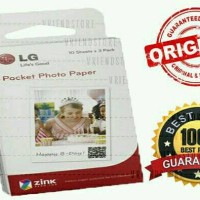 ZINK PAPER LG POCKET PHOTO PRINTER