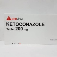 Ketoconazole tablet 200 mg isi 50's