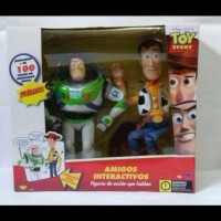 Thinkway Toys Toy Story Interctive Buzz Lightyear & Woody