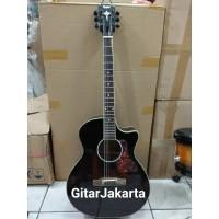 Gitar Akustik Jumbo Hitam Merk Taylor Murah Rp 525000 Jakarta