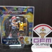 Moncolle EX Ash & Pikachu Metallic Z