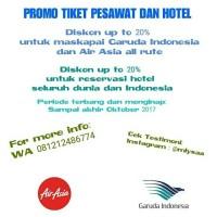 Tiket Pesawat Garuda Indonesia Medan - Jakarta 4 Oktober