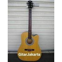 Gitar Akustik Yamaha Tipe F335BL Natural Doff Murah Jakarta